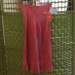 🌺NWT So Colorful & Fun Size 13/14 Pink Sundress🌺